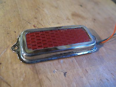 Vintage 1960's Kay Electric Guitar Pancake Pickup Red Foil. Gold Sound Killer!