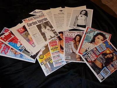Shania Twain *Vintage Press Kit Folder/Bio/Accolades/50-Pages Of Clippings!