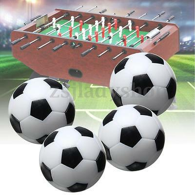 4pcs 36mm Indoor Mini Soccer Table Football Ball Game Home Kids Gift Fussball AU