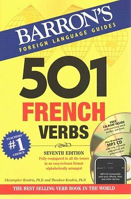 501 French Verbs by Christopher Kendris 9781438075204