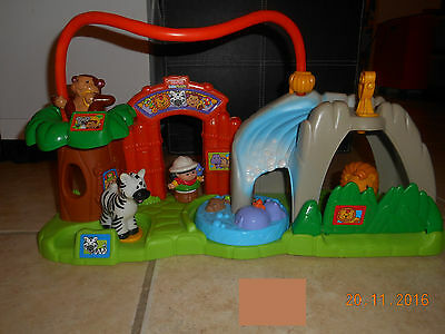 ZOO Sonore LITTLE PEOPLE Fisher Price Animaux Jouet Eveil Fille / Garçon ComNeuf