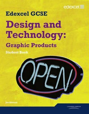 Edexcel GCSE Design and Technology Graphic Products: Student Book 9781846907548