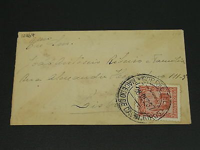 Portugal 1937 cover stains *12467