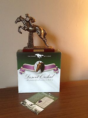 Atlas Editions Sport Of Kings 'desert Orchid' Racehorse Figurine