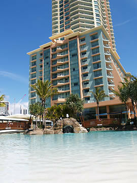 Gold Coast Accommodation Crown Towers Resort 1 & 2 Bedroom Packages