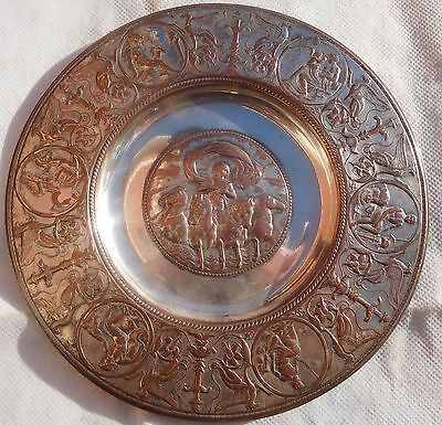 Antique Mid 19Thc Silver Plated Dish By Elkington