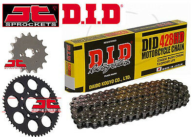 DID Heavy Duty 428 Drive Chain & JT Sprocket Upgrade Kit Honda MSX125 Grom