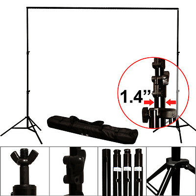 Photo Studio 10 x8.5ft Photography Heavy Duty Background Support Stand Carry Bag