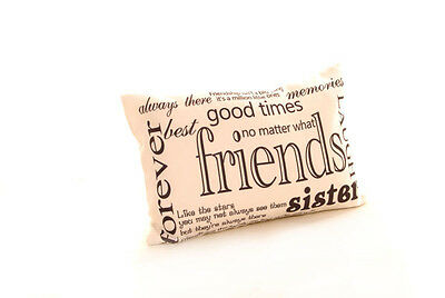 New 10 x Friends Hessian Linen Cushion Covers Wholesale Job Lot 12x18 (30x45cm)
