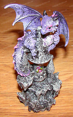 Purple Crystal Guardian Dragon (Mythical Collection, 11473)
