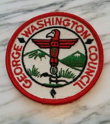 George Washington Council Boy Scouts of America Patch