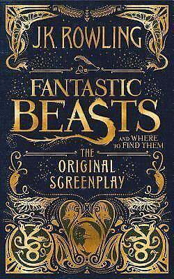 FANTASTIC BEASTS & WHERE TO FIND THEM :Original Screenplay '16 J.K. Rowling 1/1s