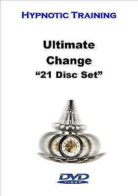 Ultimate Change With Hypnosis Hypnotherapy NLP Massive 3 Day Training Event DVDs