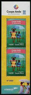 HERRICKSTAMP NEW ISSUES COSTA RICA Coope Ande S/S