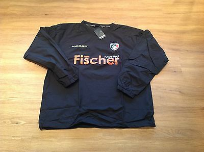 Leicester Tigers. Long Sleeve. Waterproof Training Top. Small. New.