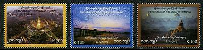 HERRICKSTAMP NEW ISSUES MYANMAR 67th Anniversary Independence Stamps
