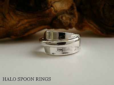 Very Pretty Georgian Solid Silver Spoon Ring 1804 *** Perfect Valentine Gift ***