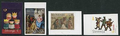 HERRICKSTAMP NEW ISSUES SLOVENIA Christmas 2015 & New Years 2014 Large Size