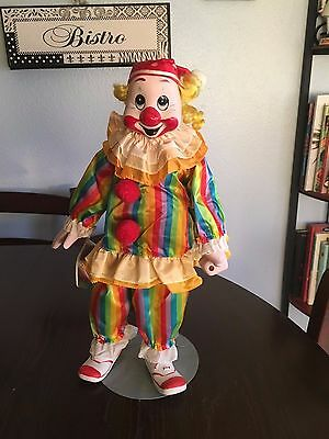 """Heritage Mint Clown from The """" Happiness and Love Collection """" , 1989 Rainbow"""