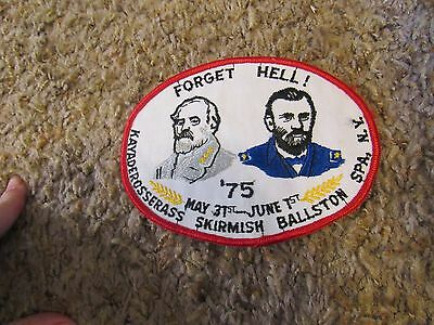1975 Forget Hell!  Kayaderosserass Skirmish Ballston Spa NY Patch