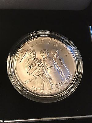 2014 Civil Rights Act Of 1964 Uncirculated Silver Dollar Coin US Mint LOW MINT