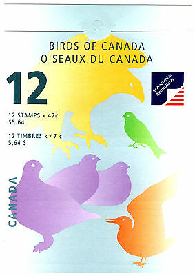 Canada 2001 Birds Folded Booklet. Mint.  #716