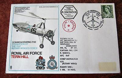 GB Flown cover 1971