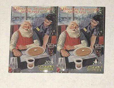 WAFFLE HOUSE 2016 Lapel Pin 'A HOLIDAY TRADITION SINCE 1955' New Lot of 2