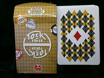 1 Deck Marcel Luske Poker Size Playing Cards - Unused Tock Poker