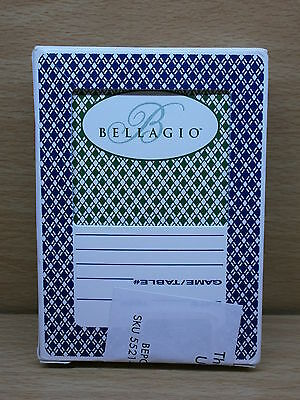 Bellagio Las Vegas Used Casino Size Playing Cards - Used, Resealed Deck