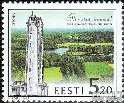 Estonia 348 (complete issue) unmounted mint / never hinged 1999 Tower