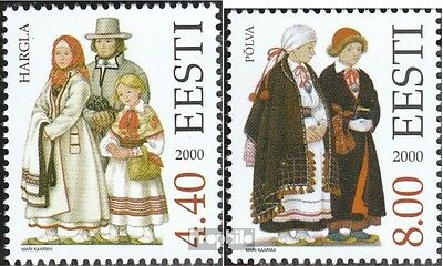 Estonia 378-379 (complete issue) unmounted mint / never hinged 2000 Costumes
