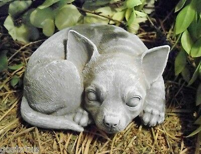 Latex with plastic backup chihuahua dog mold concrete  mould plaster mold
