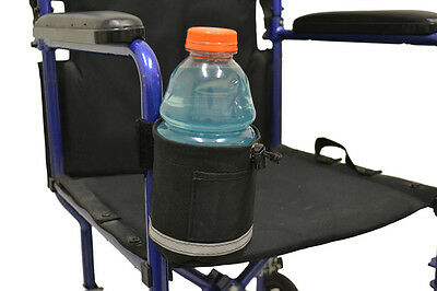 POWERCHAIR and SCOOTER  VERTICAL Mount CUP HOLDER DIESTCO