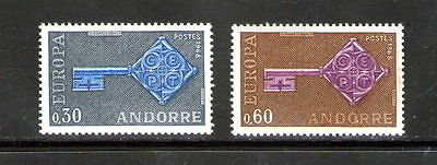 """French Andorra """"Europa"""" pair.    M.N.H.       £1.49p ask."""