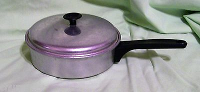 VINTAGE MIRRO 3 EGG POACHED EGG PAN, WITH TEFLON INSERT in used condition