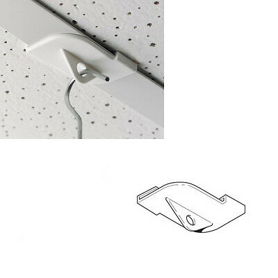 100 x Suspended Ceiling Hangers, Clips, Hooks /Twist On Ceiling Tee for 25mm bar