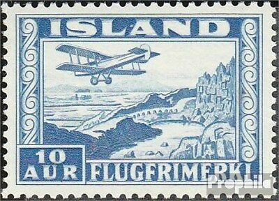 Iceland 175B fine used / cancelled 1934 post flight marks