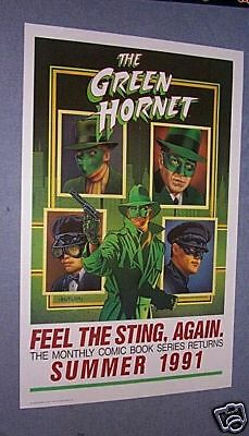 91 GREEN HORNET Comic Adv Poster MARRIED WITH CHILDREN