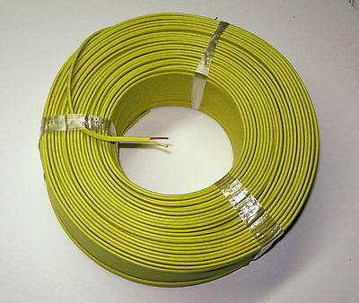 K-type Thermocouple Wire AWG 24 Solid Wire with PVC Insulation Extension 1 yard