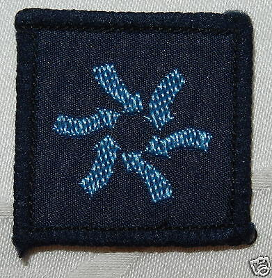 Fine Girl Guides Patrol Purpose Patch Plan Badge Patch - Mint
