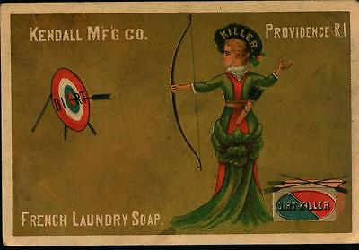 PROVIDENCE, RI, Kendall Mfg. French Laundry Soap Vintage ADVERTISING