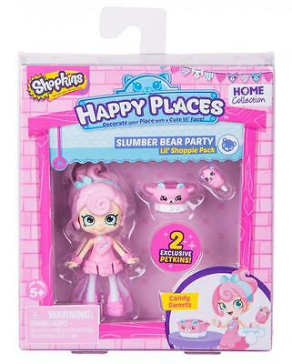 Shopkins Happy Places - Series 2 Single Doll - Candy Sweets - Brand New