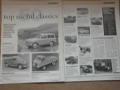 Hillman Husky-Morris Minor-Austin A35-Bedford Ca - Top Useful Classics