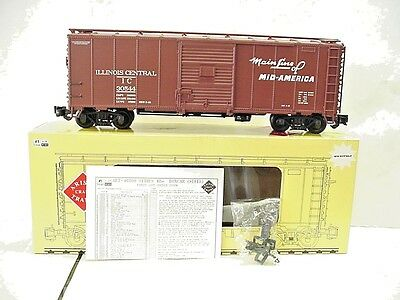 New AristoCraft G Scale Illinois Central Mainline ofMid-America BoxCar ART-46087