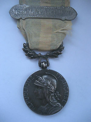 Foreign Legion/fr.forces..colonial Medal 1925-1926 Levant