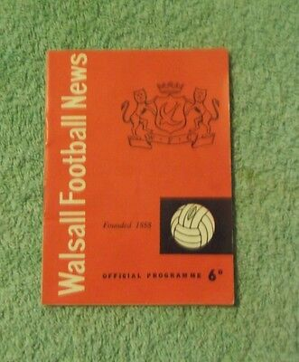 1964/65 Walsall v Bristol Rovers FA Cup