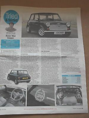 Rover Mini Cooper - Tried & Tested