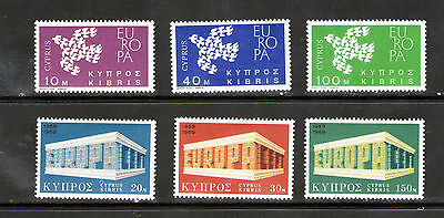 """2 Cyprus   """"Europa"""" sets.    M.N.H.       39p ask."""