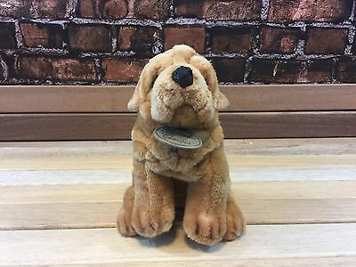 Russ Yomiko Classics Sharpei Plush Puppy Dog Stuffed Animal 11 INCHES EUC